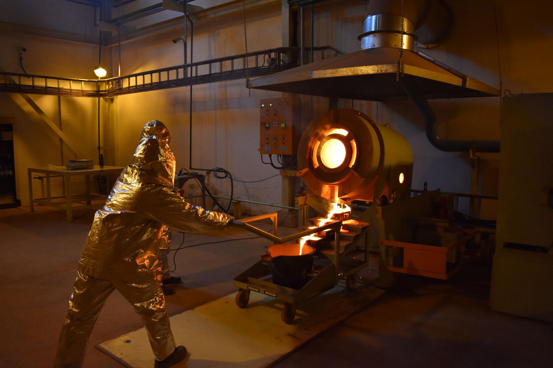 Industrial Precious Metals Refiner
